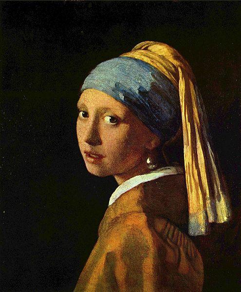 «الفتاة ذات اللؤلؤة» ليوهانس فيرمير الرسام الهولندي